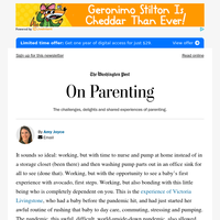 On Parenting: In a pandemic, a vision of what actual maternity leave could be