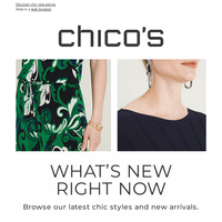 Closet refresh? New arrivals are here
