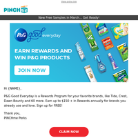 Sign up to Earn Big Rewards and Win Free Product.