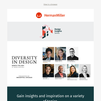 Join Us March 11 for Herman Miller's Design Insights Series