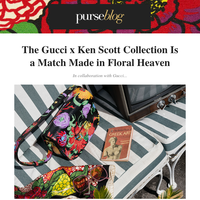 Gucci x Ken Scott: Your New Spring Bag 🌹🌷🌻