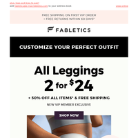 Your March leggings  are here!