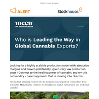 Who is Leading the Way in Global Cannabis Exports?
