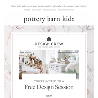 Reserve your spot! FREE design help