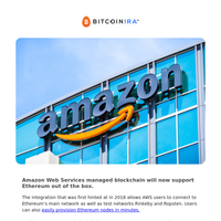 Amazon managed blockchain supports ETH