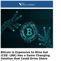 (CSE: LNK) May Be the Next Bitcoin Related Stock to Rally!