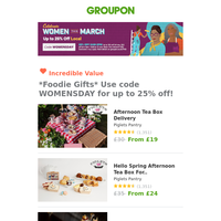 Mother's Day Gift Guide - Save up to 25% BEFORE 2pm! 💐🎁
