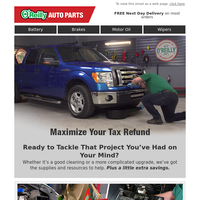 [Coupon] Maximize Your Tax Refund and Save