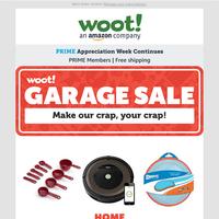 It's a Garage Sale! Don't miss out!