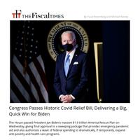 Big Win for Biden: Congress Passes Historic Covid Relief Bill