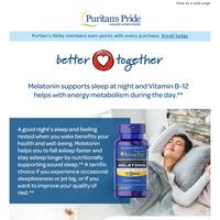 THAT Melatonin + THIS Vitamin B