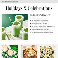 40 St. Patrick's Day Desserts