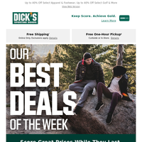 A new notification from DICK'S Sporting Goods: St. Patrick's Day is going to be a fun one... Find exactly what you're looking for