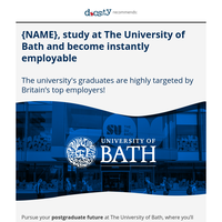 {NAME}, boost your career with a master in UK!
