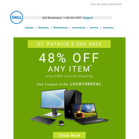 🍀 Dell Refurbished St. Patrick's Day Sale
