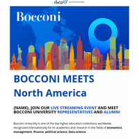 {NAME}, you still have time to sign up for Bocconi special online event 💻