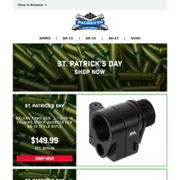 St. Patrick's Day Deals | Sylvan Arms AR-15 Folding Stock Adapter $149.99
