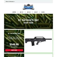 Last Chance For St. Patrick's Day Deals | LKCI B100 12GA Bullpup Shotgun $549.99