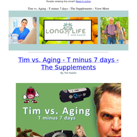 Reversing Age With Supplements