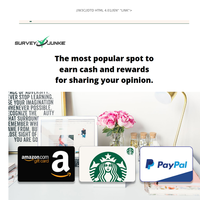 {NAME} Work from Home: Get rewarded for your opinion
