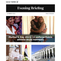 Mother's Day 2021: 11 unforgettable athlete-mum moments