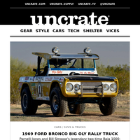 1969 Ford Bronco Big Oly Rally Truck & more
