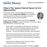 China's War Against Fintech Opens Up New Opportunities