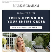 Happy Shopping! The Molly Sims Mother's Day Gift Guide Is Officially Here 💝