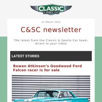 Rowan Atkinson's Ford Falcon, plus Alfa Romeo vs MG vs Lotus vs Porsche and more
