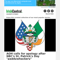 AOH calls for apology after NBC's St. Patrick's Day \