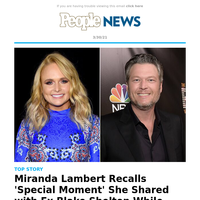 Miranda Lambert recalls 'special moment' she shared with ex Blake Shelton while writing 'Over You'