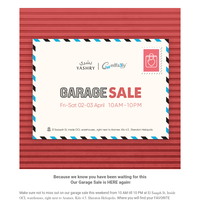 {NAME}, You're invited to our Garage Sale this weekend! 💌