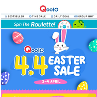 Good Friday & Easter Sale! Egg-citing deals up to 80% off!