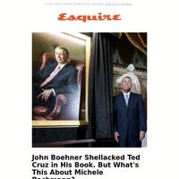 John Boehner Fully Roasts Ted Cruz in His New Book