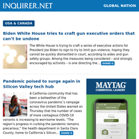 Global Nation: US Capitol on shutdown after police officer killed in vehicle attack; 10 ideas on Easter crafts for kids; More fallen Filipinos on U.S. Covid front lines