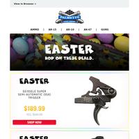 PSA Easter Deals End Tomorrow