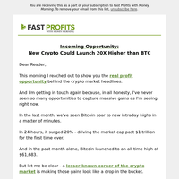 Did you get access to tomorrow's hot crypto play?