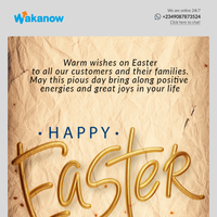 The best EASTER email you will ever get!