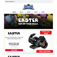 PSA Easter Deals | Vortex Strikefire Coupon Code Deal