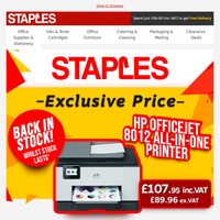 Exclusive HP Printer Upgrade with Staples Easter Price Deals