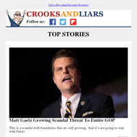 Crooks and Liars Daily Update For 04/05/2021