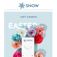 Last day to shop the Easter Sale!