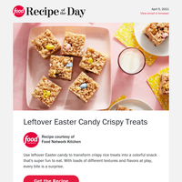 Leftover Easter Candy Crispy Treats
