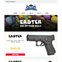 Last Chance For Easter Deals