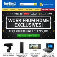 Work From Home Solutions! $179 Logitech Ultra HD Webcam