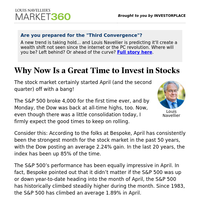 Must Read: Why Now is a Great Time to Invest in Stocks