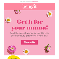 The perfect gifts for Mother's day! 💕