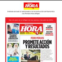 Pedro Pierluisi promete acción y resultados | En su primer mensaje de situación, el gobernador se enfocó en el manejo de la pandemia del coronavirus, el uso de fondos federales para infraestructura y educación, arreg lar el transporte marítimo