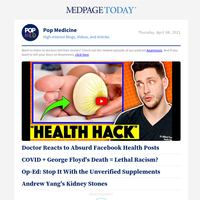 Facebook Health Post Fact-Check; George Floyd's Death + COVID = Lethal Racism? Shady Supplements