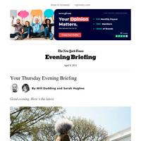 Evening Briefing: Biden announces action against guns